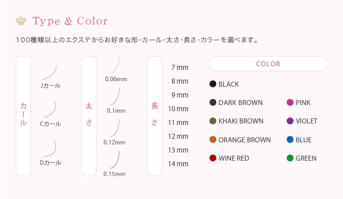 Type & Color